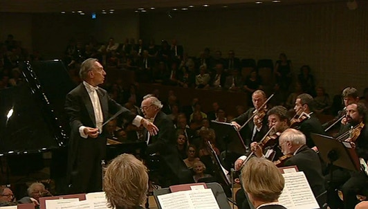 Claudio Abbado conducts Beethoven and Bruckner – With Alfred Brendel