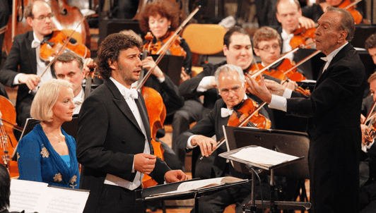 Claudio Abbado conducts Mahler's Das Lied von der Erde and Symphony No. 10 — With Anne Sofie von Otter and Jonas Kaufmann