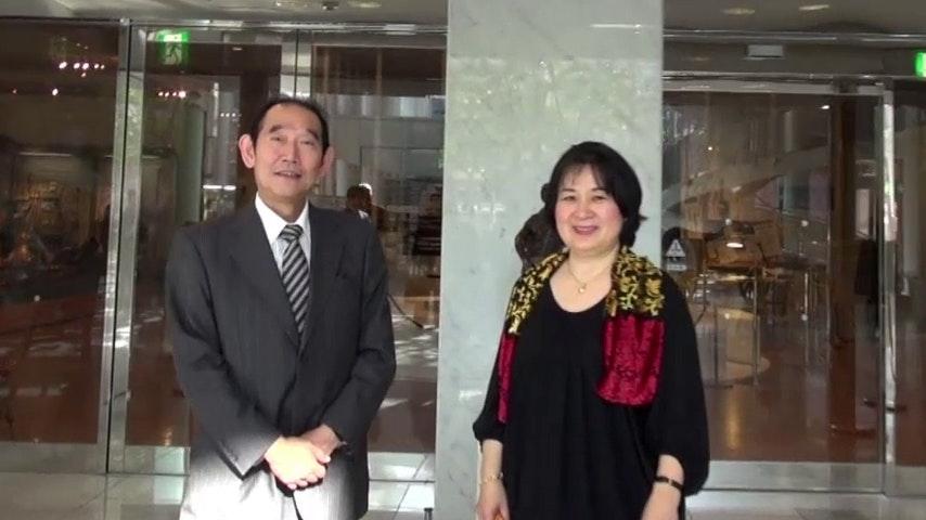 Akiko Ebi and Ogi Kaoru present the Hamamatsu International Piano Competition