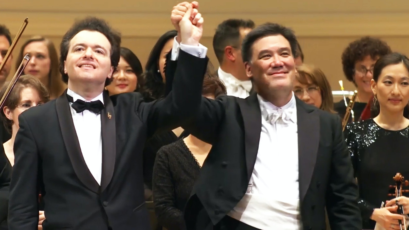 Alan Gilbert conducts Tchaikovsky, Lindberg and Ravel with the New York Philharmonic and Evgeny Kissin