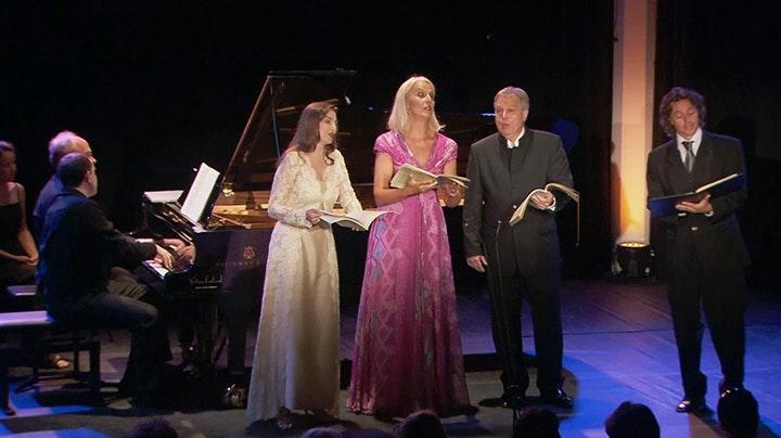 Anne Sofie von Otter performs Brahms's Lieder