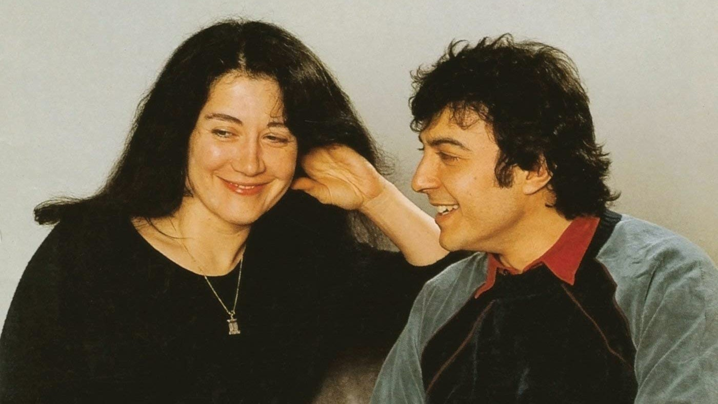 Martha Argerich and Nicolas Economou play Mozart's Piano Sonata for Four Hands