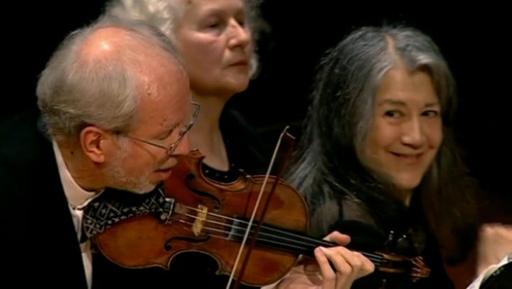 Martha Argerich and Gidon Kremer, Memory of a concert