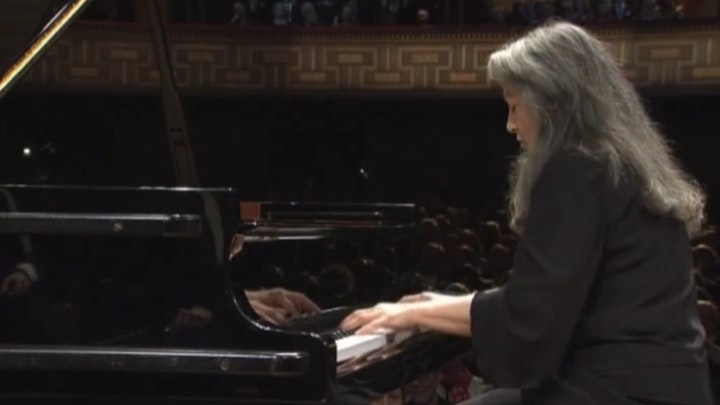 Martha Argerich and Yuri Temirkanov perform Ravel, Prokofiev, and Shostakovich