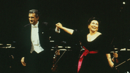 Asher Fisch conducts great operas arias – With Plácido Domingo, Roberto Alagna, Angela Gheorghiu...