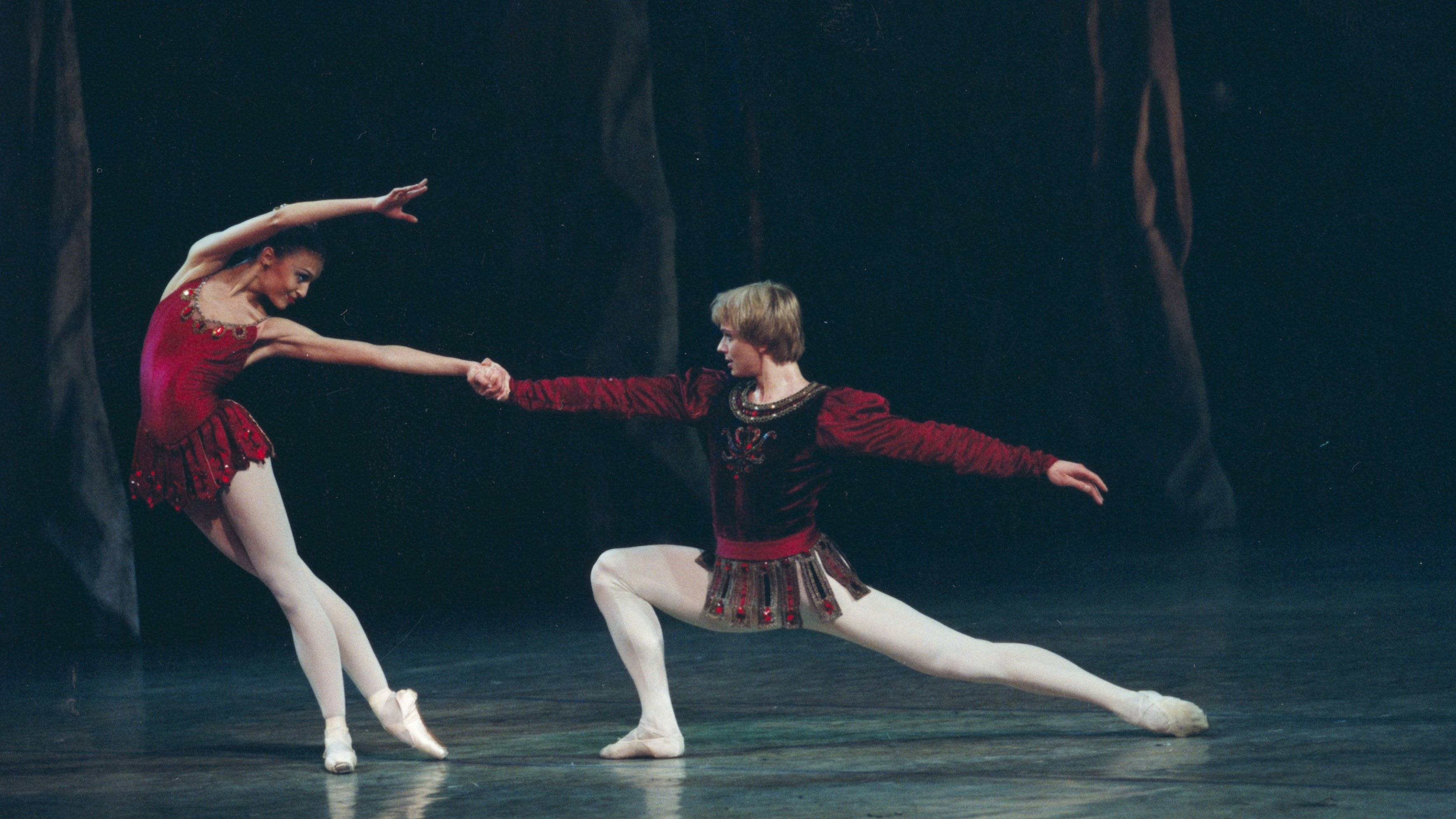 Jewels by Balanchine, music by Fauré, Stravinsky, and Tchaikovsky
