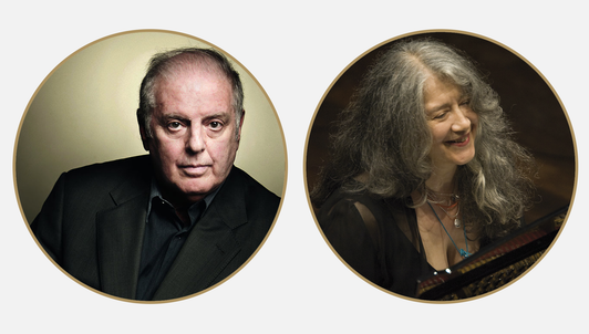 Daniel Barenboim conducts Schubert and Tchaikovsky — With Martha Argerich