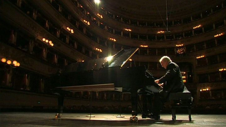 Daniel Barenboim, the Liszt recital