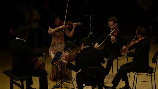 Le Quatuor Belcea et Antoine Tamestit jouent des quintettes et quatuors de Mozart, Chostakovitch et Brahms