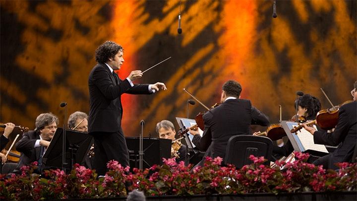 Waldbühne 2014: Gustavo Dudamel conducts Tchaikovsky and Brahms