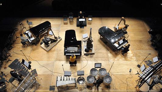 Boulez dirige su obra Sur incises