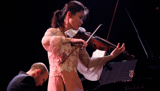Sayaka Shoji, Nelson Goerner, Yuri Bashmet y Evgeny Kissin interpretan a Brahms