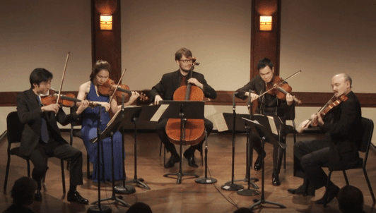 Mendelssohn's String Quintet No. 2 – With Sean Lee, Danbi Um, Paul Neubauer, Richard O'Neill and Mihai Marica