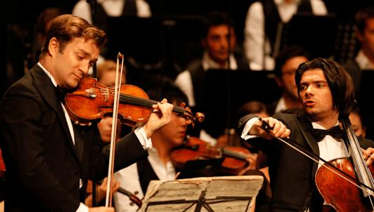 Charles Dutoit, les frères Capuçon et Manfred Honeck interprètent Brahms