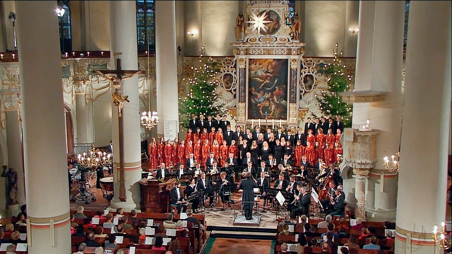 Thomas Clamor conducts a Christmas concert in Marienberg – With Ruth Ziesac