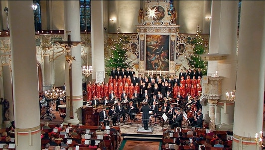 Thomas Clamor dirige un concierto de Navidad en Marienberg – Con Ruth Ziesak