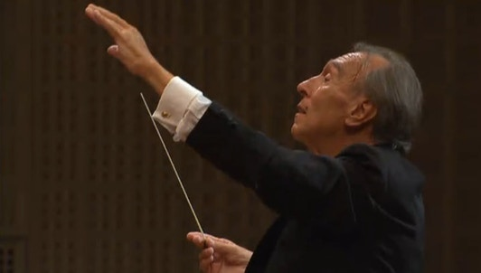 Claudio Abbado conducts Mahler's Symphony No. 3