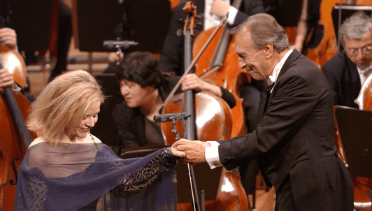 Claudio Abbado conducts Richard Strauss and Wagner — With Renée Fleming, Violeta Urmana, René Pape...