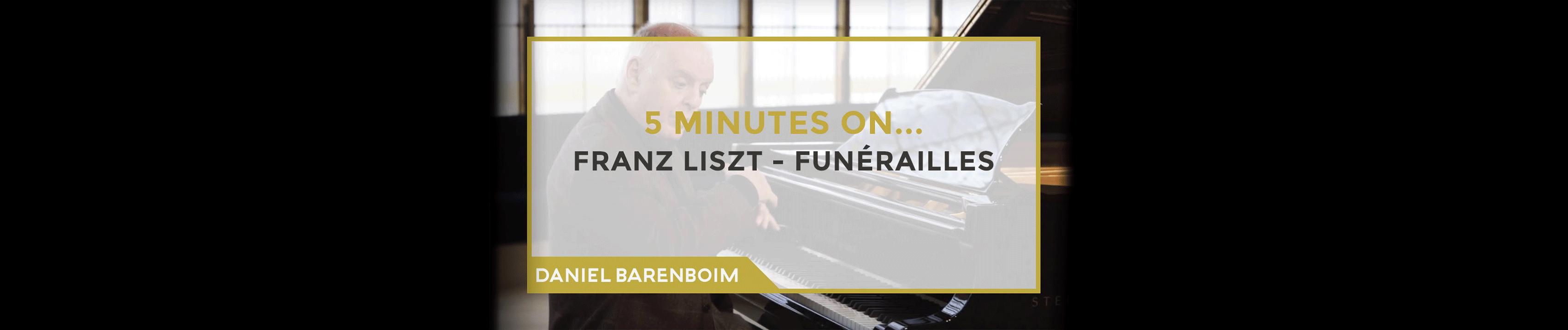 Daniel Barenboim, Funérailles de Liszt