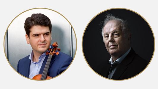 Daniel Barenboim and Michael Barenboim play Mozart's Violin Sonatas (I/II)