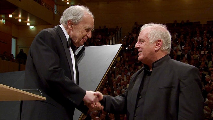 Pierre Boulez conducts Wagner and Liszt – With Daniel Barenboim