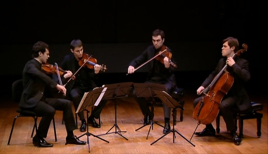 Diego Tosi, Neuburger et le Quatuor Modigliani | Diego Tosi (artiste)