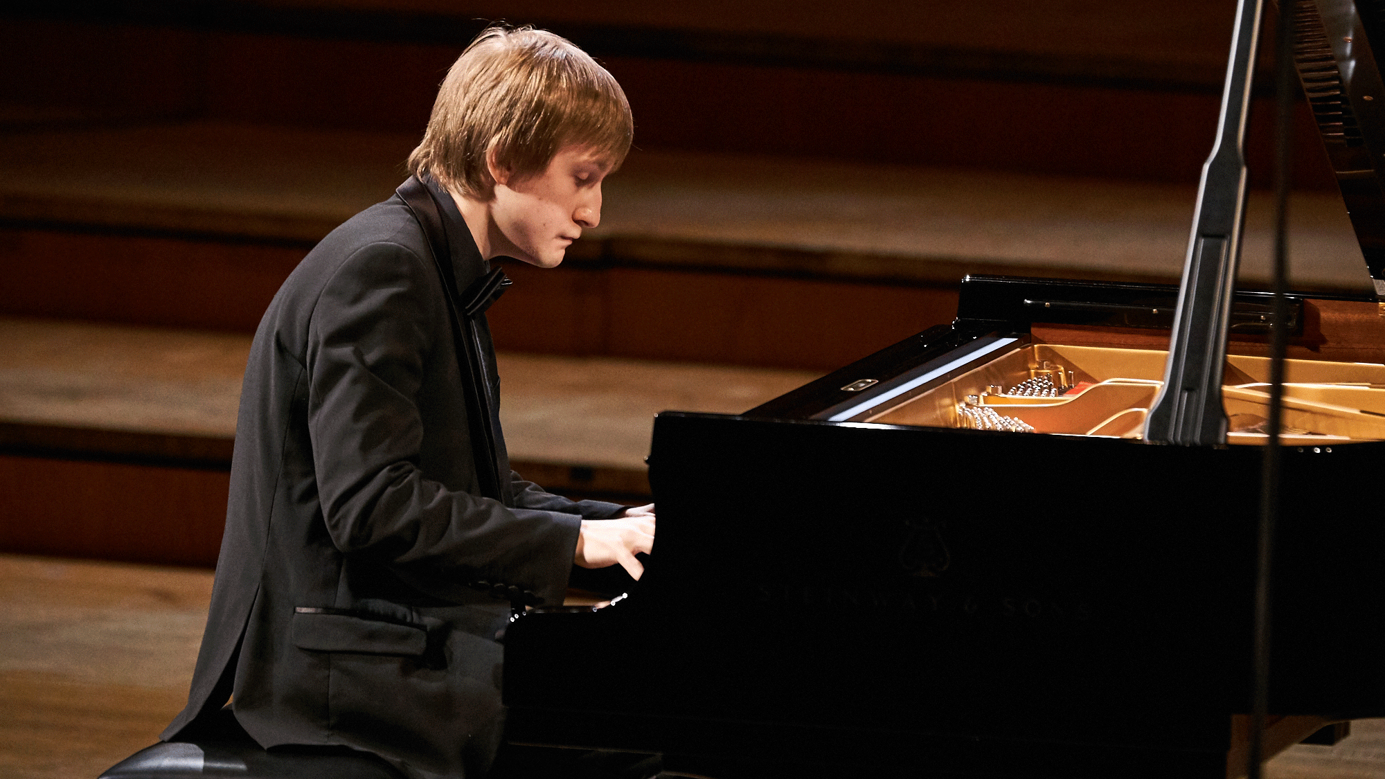 Dmitry Masleev performs Prokofiev's Piano Sonatas No. 1, No. 2, and No. 3