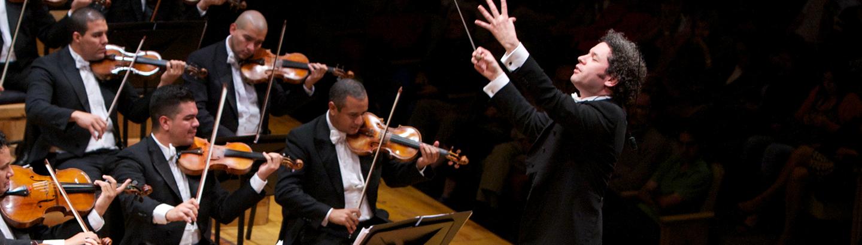 Concert Gustavo Dudamel conducts Beethoven's Symphonies No