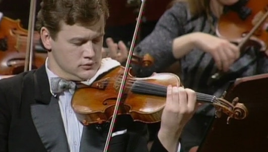 Jiří Bělohlávek conducts Dvořák's Concerto for Violin and Orchestra in A Minor, Op. 53 – With Ivan Ženatý
