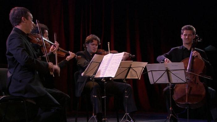 The Quatuor Ebene performs Borodin and Brahms