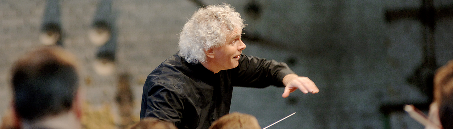 Sir Simon Rattle conducts Brahms and Wagner – With Lisa Batiashvili and Truls Mørk