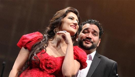 Fayçal Karoui : Gala d'opéra avec Dinara Alieva et René Barbera