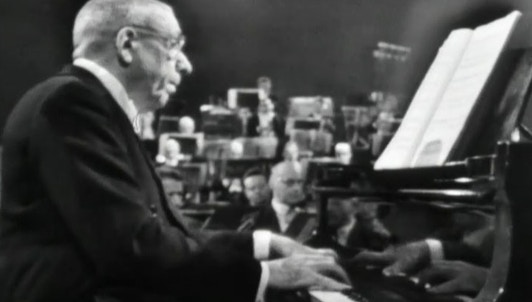 Francis Poulenc plays his own works with his favorite performers