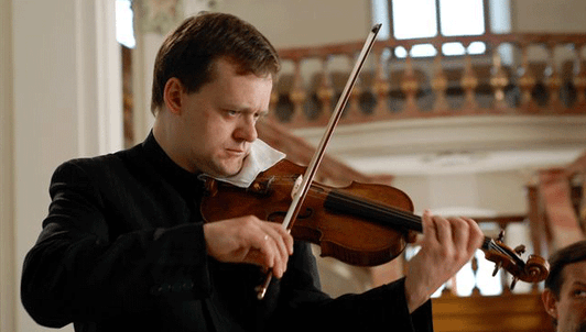 Frank Peter Zimmermann plays Bach's Violin and Piano Sonatas
