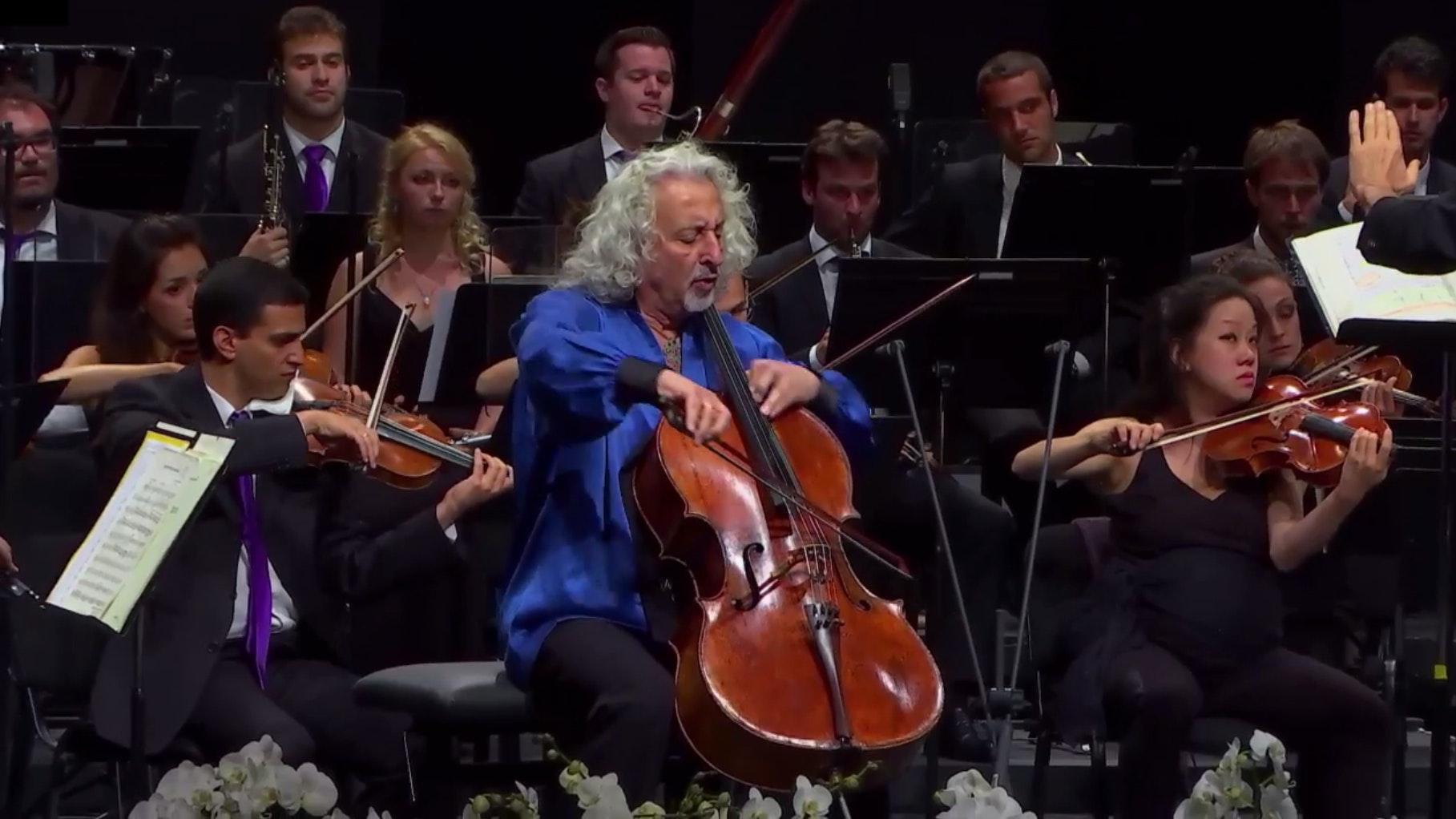 Gábor Takács-Nagy conducts Saint-Saëns and Schumann – With Mischa Maisky