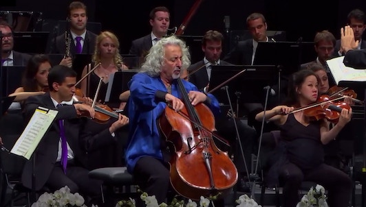 Gábor Takács-Nagy conducts Saint-Saëns and Schumann — With Mischa Maisky