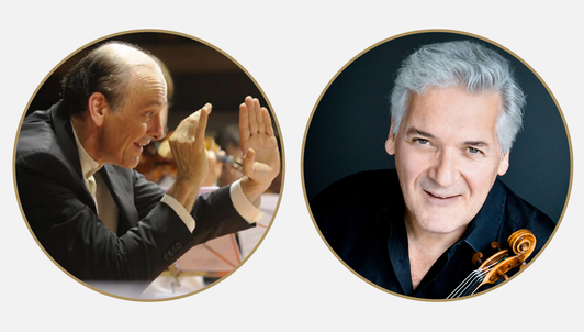 Gábor Takács-Nagy and Pinchas Zukerman conduct Tchaikovsky and Mozart – With Lisa Batiashvili and Gautier Capuçon