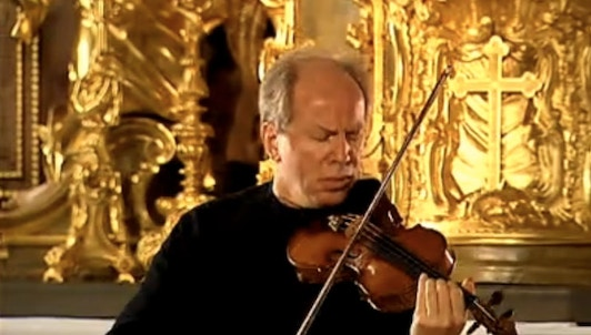 Gidon Kremer plays Bach, Partitas for Solo Violin