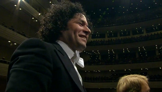 Gustavo Dudamel conducts Rossini, Bernstein, Ravel and Orbón