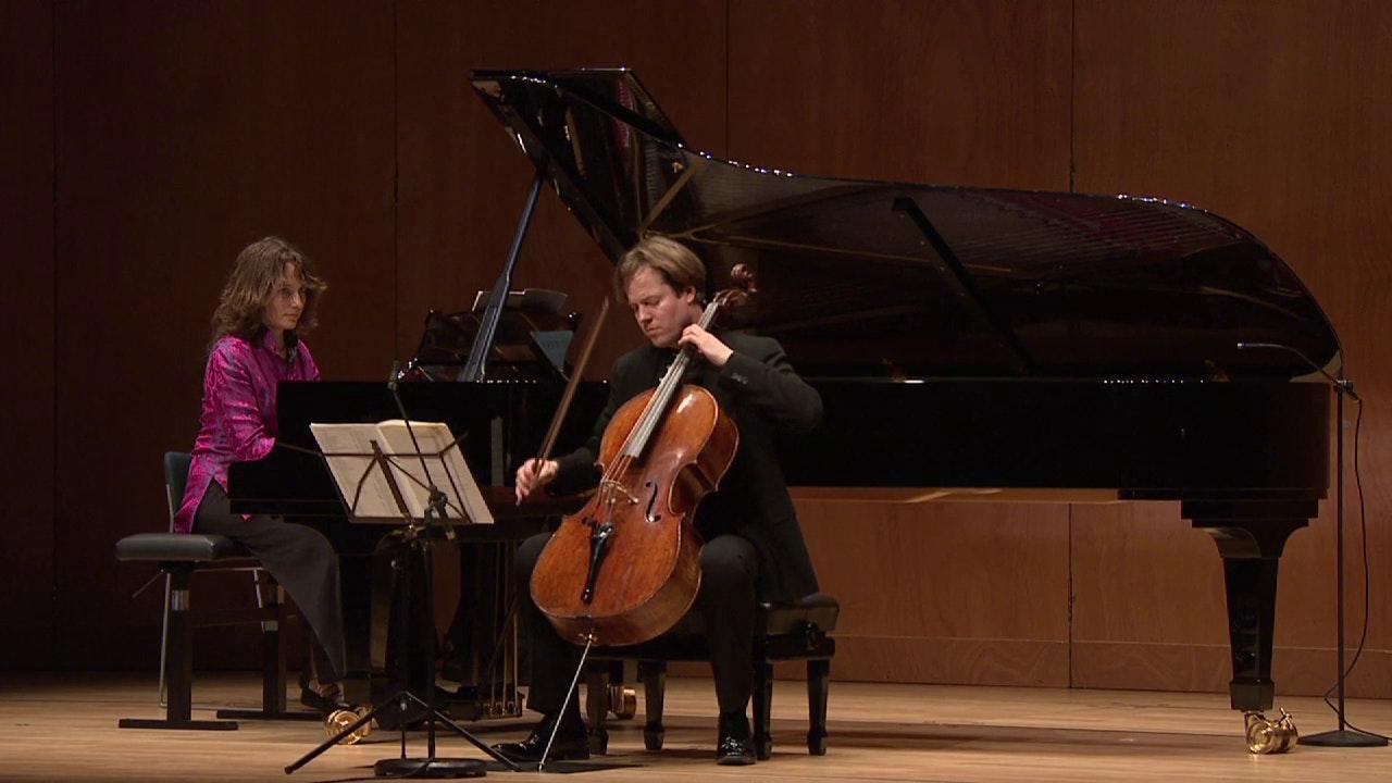 Hélène Grimaud and Jan Vogler perform Schumann, Brahms and Shostakovich