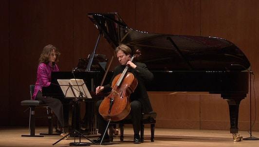 Hélène Grimaud et Jan Vogler interprètent Schumann, Brahms et Chostakovitch