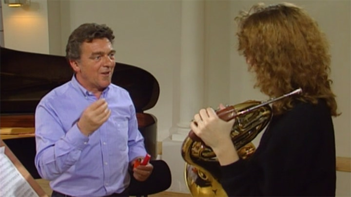 Hermann Baumann, horn master and teacher