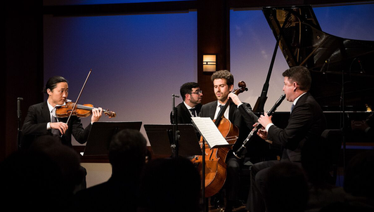 Hindemith: Quartet for Clarinet, Violin, Cello, and Piano – With Alexander Fiterstein, Sean Lee, Nicholas Canellakis and Michael Brown