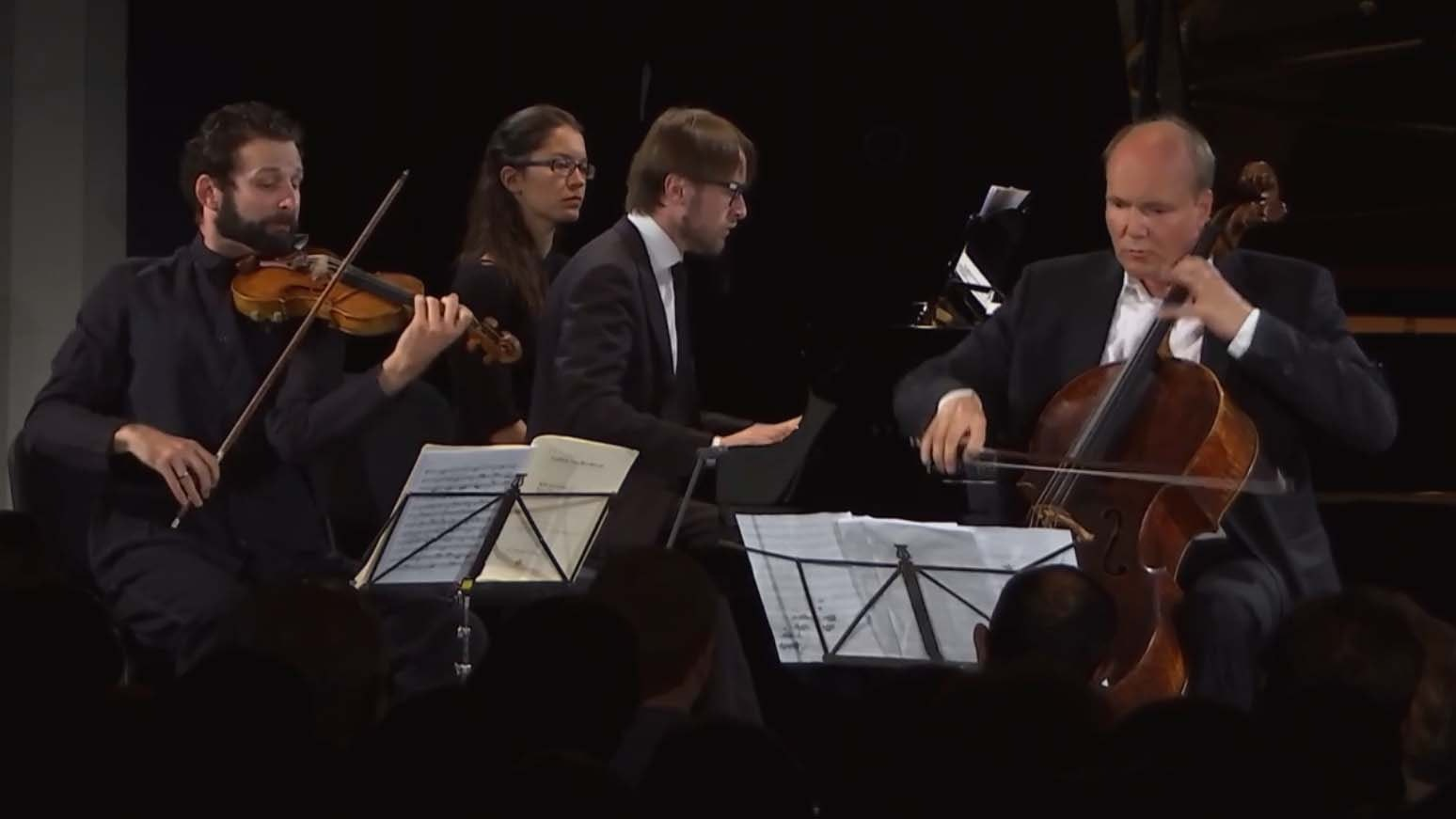 Ilya Gringolts, Truls Mørk and Daniil Trifonov perform Beethoven, Schubert, and Brahms