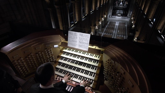 In the Belly of the Organ of Notre-Dame