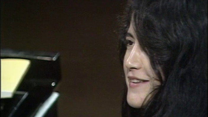 Martha Argerich plays Tchaikovsky's Piano Concerto No. 1