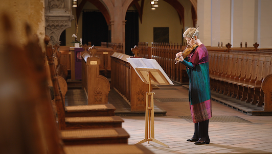 NEW VOD: Isabelle Faust plays Bach's Sonata No. 3 and Partita No. 2 for Solo Violin