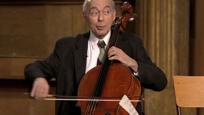 János Starker, A Lesson In Music