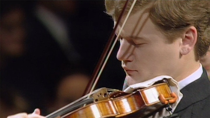 Jiří Bělohlávek conducts Dvořák's Romance for violin and orchestra – With Ivan Ženatý