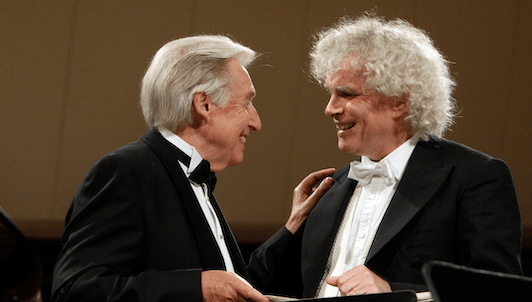 Sir Simon Rattle conducts de Falla's Nights in the Gardens of Spain – With Joaquín Achúcarro